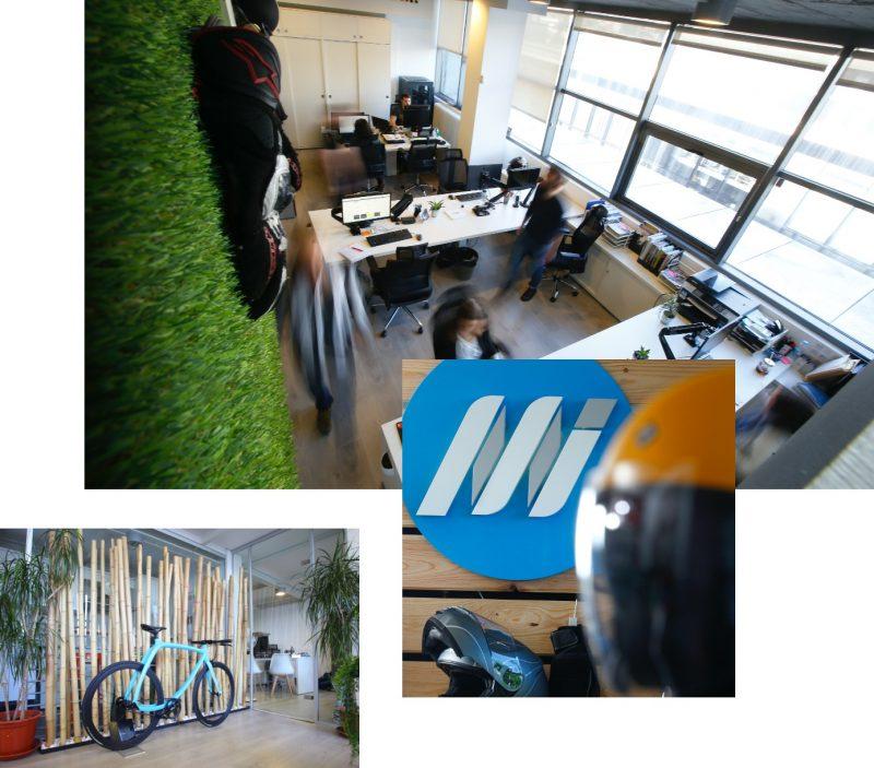Collage de fotos de instalaciones Medis Grupo