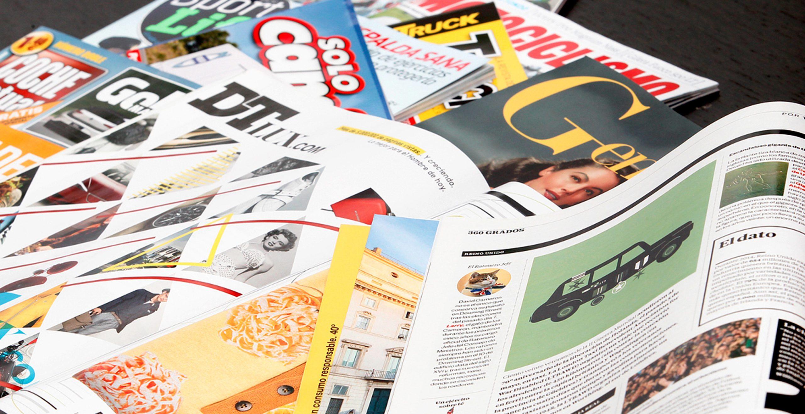 Revistas de motor y LifeStyle